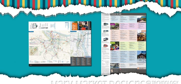 Fold-Up Map & Event Brochure